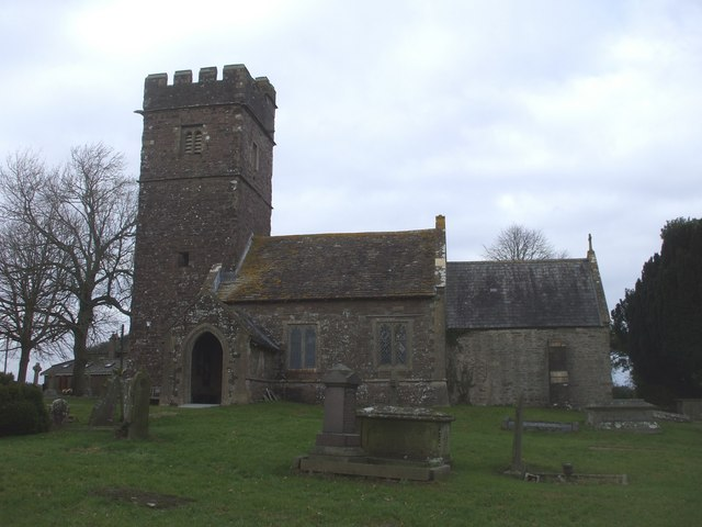 Church of St John the Baptist, Llanhennock