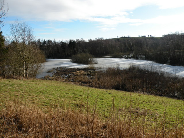 Marston Lake from the North Hide