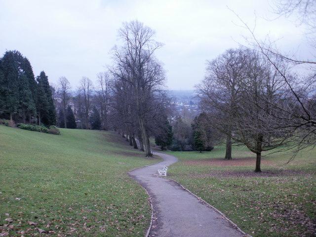 View down Beechwood Park