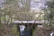 Farm bridge in New Barn Farm