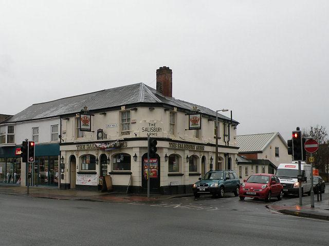 The Salisbury Arms, Shirley High St