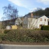 Bulmore Road, Caerleon, houses viewed from New Road