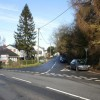 Junction of four roads, The Village, Caerleon