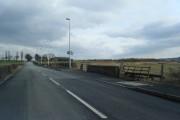 Bridge on Town Lane over Rams Brook.