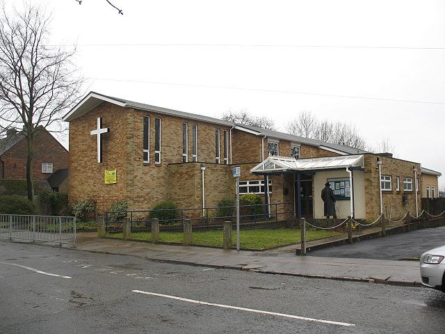 St Antony's church, Hamsey Green
