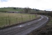 Farm below Seale-Hayne