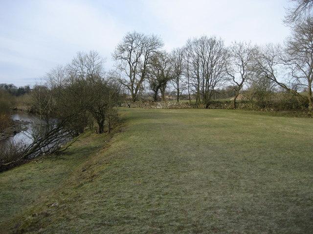 Footpath beside the River Greta