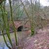 Bridge carrying B4194 road across the Dowles Brook