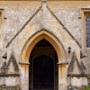 Entrance to St Leonard's Church in Waterstock