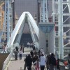 Footbridge at Salford Quays