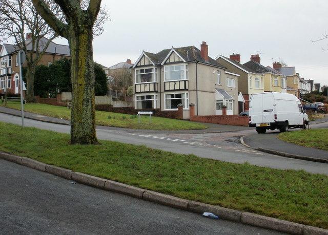 Corner of Ronald Road, St Julians, Newport