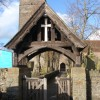 Lych gate, Christchurch parish church, Newport