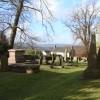Churchyard, and view, Christchurch, Newport