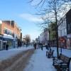 Gosport under snow - High Street (2)