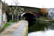 Regent's Canal:  Haggerston Bridge
