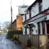 Four Horseshoes and view along Nursling Street