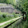 Worcester and Birmingham Canal approaching Edgbaston Tunnels