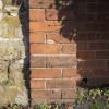 Bench mark on Ann Moon's Cottage