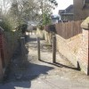 Footpath from Carlton Road, St Julians, Newport