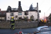 Kingsdon Inn fire evening 4th March 2010