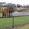 Garthdee childen's play park from West