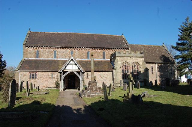 Bosbury Church