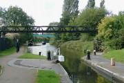 Birmingham and Fazeley Canal at Minworth Top Lock, Birmingham