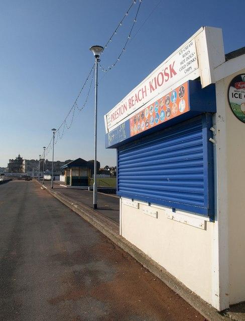 Beach kiosk, Preston