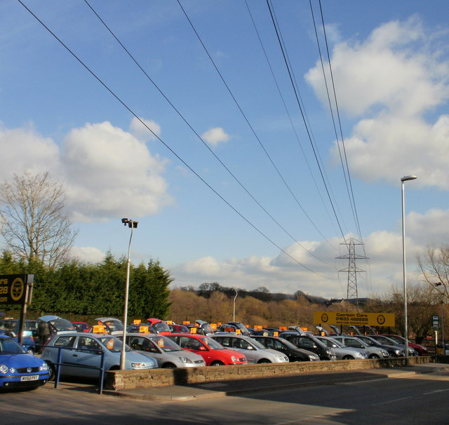 Overhead power lines, Ponthir Road, Caerleon