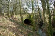 Stream bridge, Piltdown - Fletching road