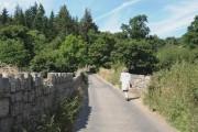 Chagford Bridge, over the River Teign