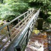 Footbridge over the River Twiss, near Ingleton