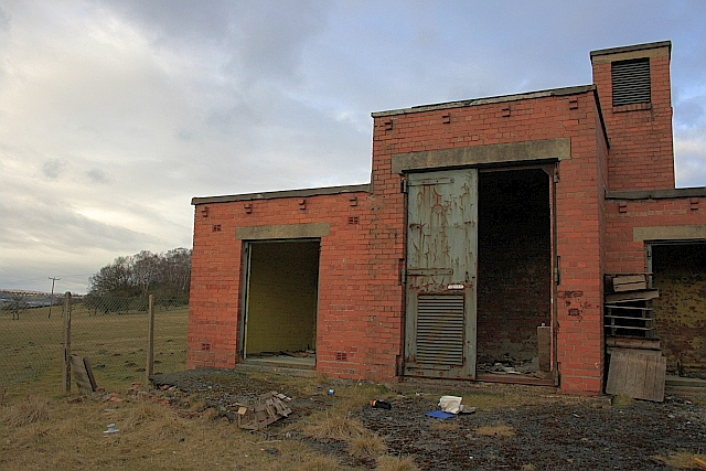 Disused Sub-Station, North Bitchburn Bank