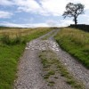 The start of the walk from Ingleton across Storrs Common to Ingleborough