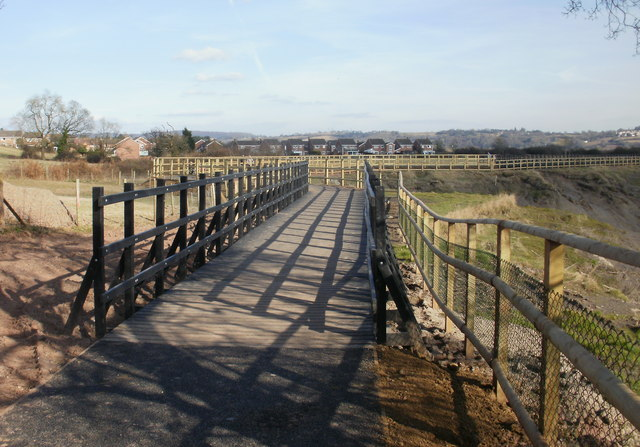 Zigzag route, Malpas to Caerleon cycleway