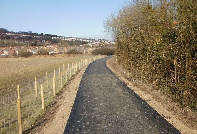 Cyclepath heads for Caerleon