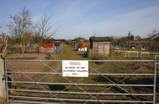 Private - allotment holders only