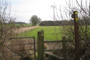Footpath to Haseley south of Waste Green