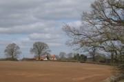 Hill Farm from Rouncil Lane, Beausale