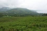 View over Strachur village