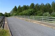 Bridge over the A417 T) near Cirencester