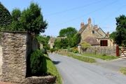 Main street in Ampney Crucis