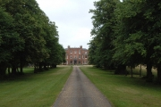 300-year-old lime avenue to Broke Hall