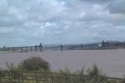Runcorn Bridge and the Mersey