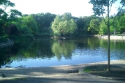 Ward Jackson Park  Pond.