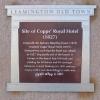 Plaque at High Street Bridges, Royal Leamington Spa