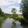 The River Leam from Willes Road Bridge