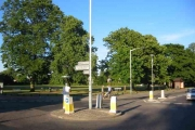 Mini Roundabout at Harefield
