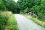 Disused Railway Bridge over the River Browney
