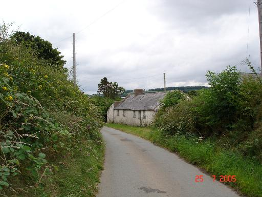 Derelict cottages